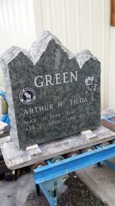 Monument headstone