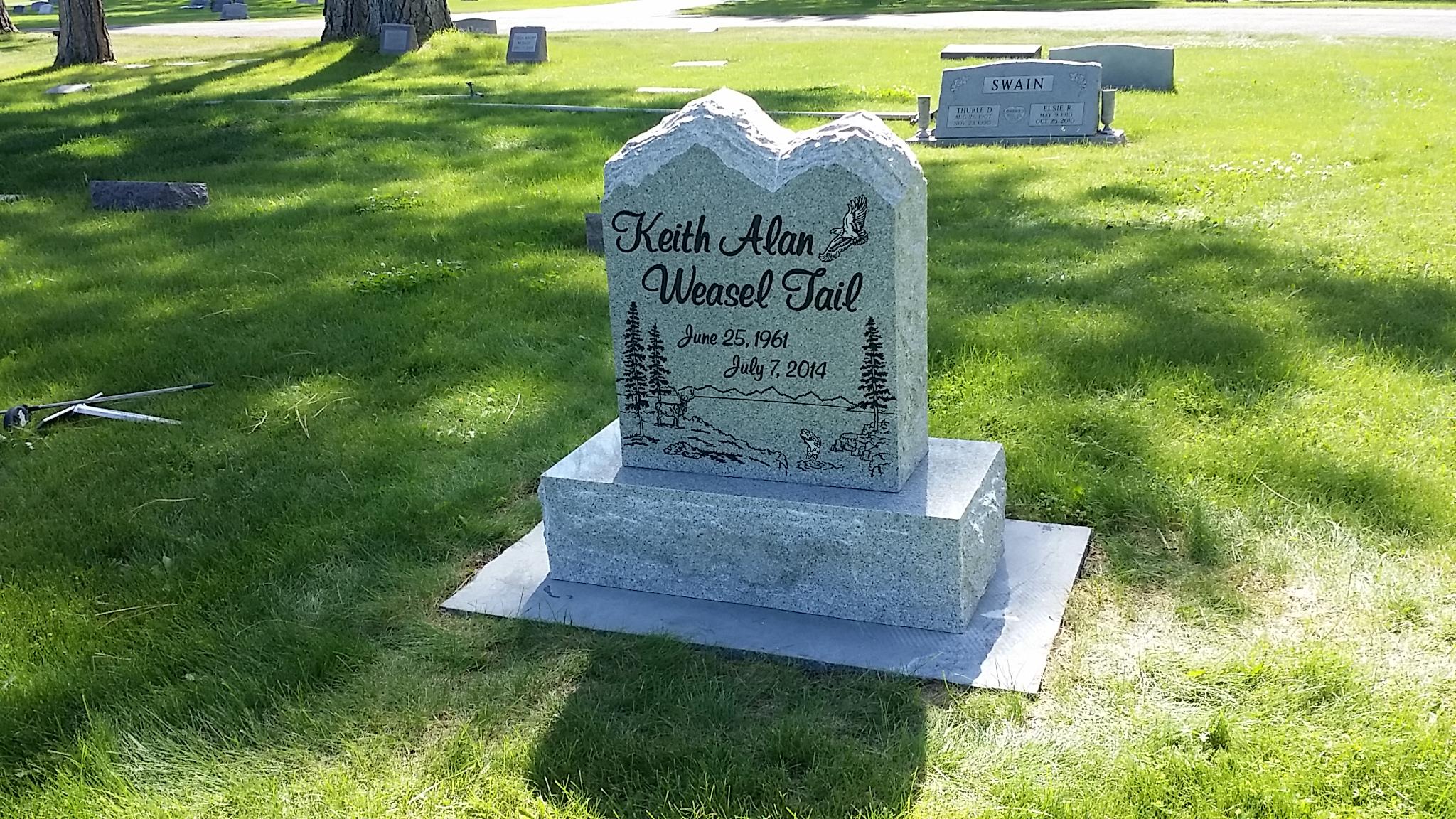 Weasel Tail Memorial